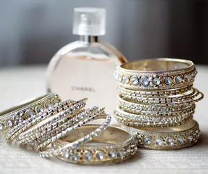 bracelet, chanel, and perfume image
