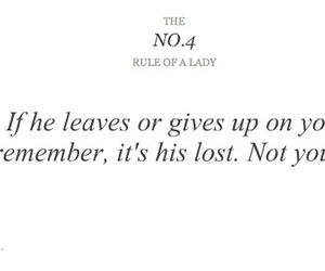 lady, quote, and rules of a lady image