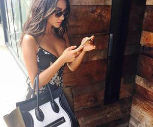 shay mitchell, beauty, and bag image
