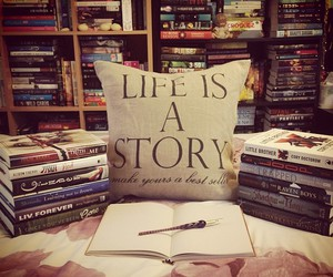 book, life, and story image