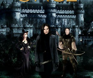 once upon a time, regina, and camelot image