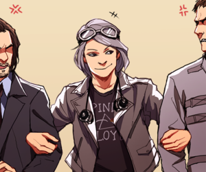 quicksilver, charles, and x-men image