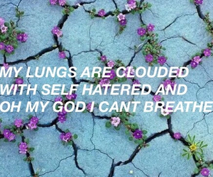 lungs, aesthetic, and breathe image