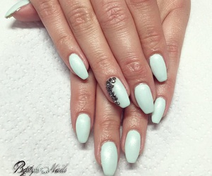 nails, Swarovski, and zurich image