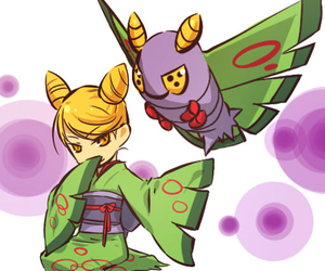 pokemon and dustox image
