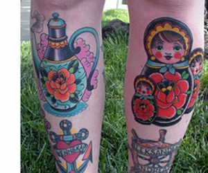 ink, tattoo, and cute image