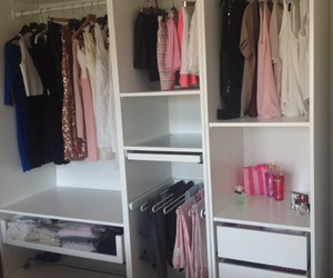 closet, clothes, and dress image
