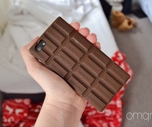 case, chocolate, and iphone image