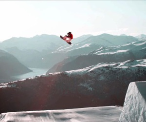 escape, mountains, and rider image