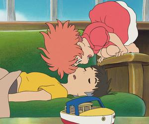 Ponyo, sosuke, and anime image