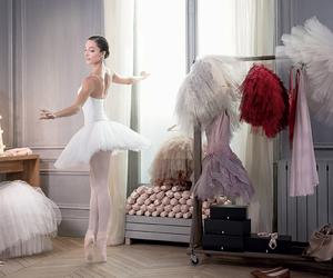 ballerina, dance, and repetto image