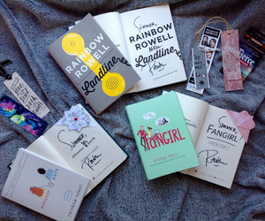 books, read, and fangirl image
