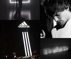 black, grunge, and louis image