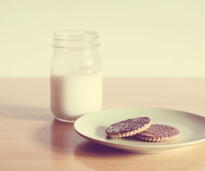 cookie and milk image