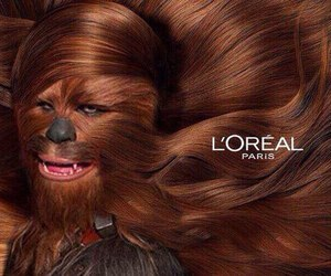 star wars, funny, and chewbacca image