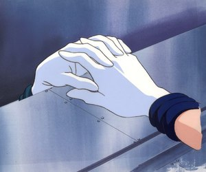 art, hands, and sailor moon image