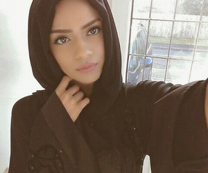 hijab, beauty, and girl image