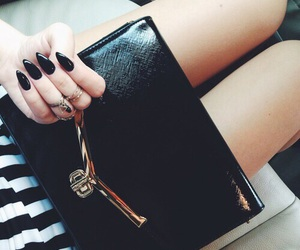 girl, legs, and nails image
