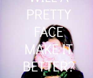 beautiful, cry, and pretty face image