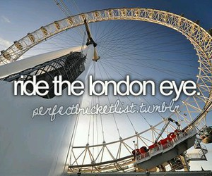 london eye, london, and before i die image