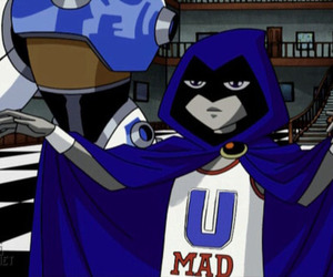 raven, lol, and teen titans image