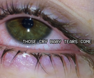 cry baby, header, and tumblr image