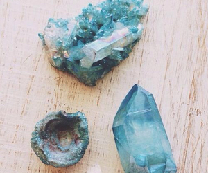 blue, stone, and crystal image