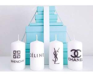 candle, celine, and chanel image