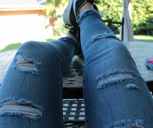 jeans, reflex, and summer image