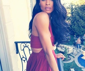 ciara, dress, and hair image