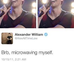 alex gaskarth, all time low, and fun image