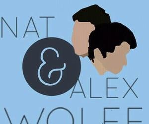art, nat wolff, and alex wolff image