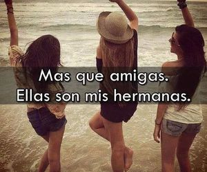 friends, sisters, and frases image