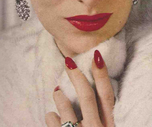 glamour and vintage image