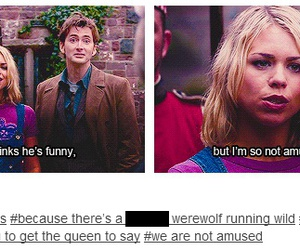 doctor who, queen victoria, and rose tyler image