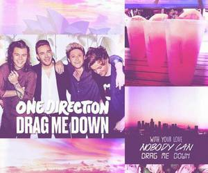 one direction, drag me down, and wallpaper image