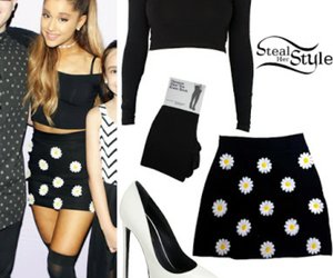 ariana grande, outfit, and style image