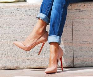 fashion, louboutins, and shoes image