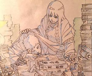 naruto, naruhina, and hinata image