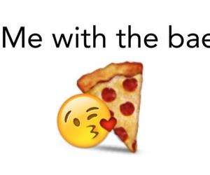 bae, food, and haha image