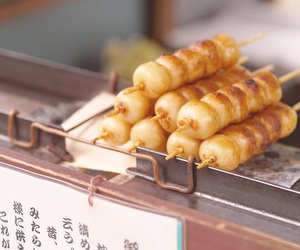 dango, food, and japan image