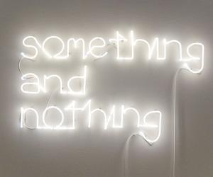 light, something, and nothing image