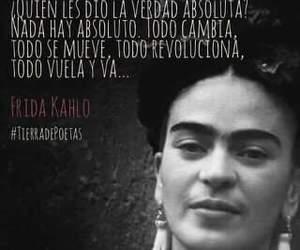 frida kahlo, kahloismo, and frases de kahlo image
