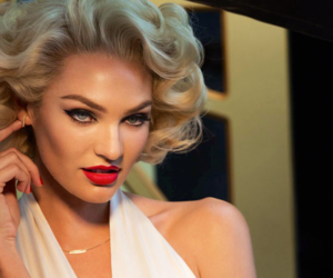 candice swanepoel, blonde, and girl image