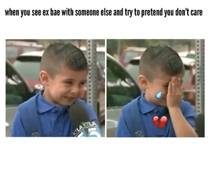 bae, funny, and heartbreak image
