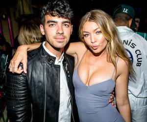 gigi hadid, Joe Jonas, and couple image