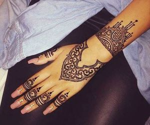 beauty, black, and rings image
