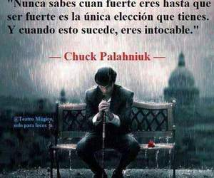 fuerza, intocable, and frases image