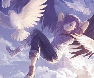 anime, lucifer, and hataraku maou-sama image