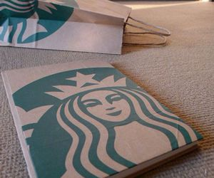 diy, notebook, and starbucks image